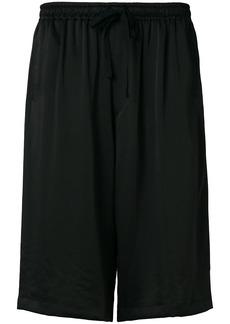 Y-3 Yohji Yamamoto Y-3 wide leg shorts - Black
