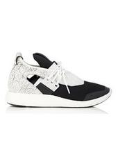 Y-3 Yohji Yamamoto Y-3 Women's Elle Run Neoprene & Leather Sneakers
