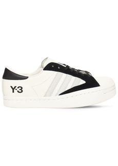 Y-3 Yohji Yamamoto Y-3 Yohji Star Leather Sneakers