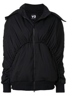 Y-3 Yohji Yamamoto Y-3 zip up bomber jacket - Black