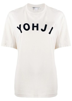 Y-3 Yohji Yamamoto Yohji printed T-shirt
