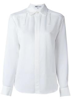 Y-3 Yohji Yamamoto zip detail shirt