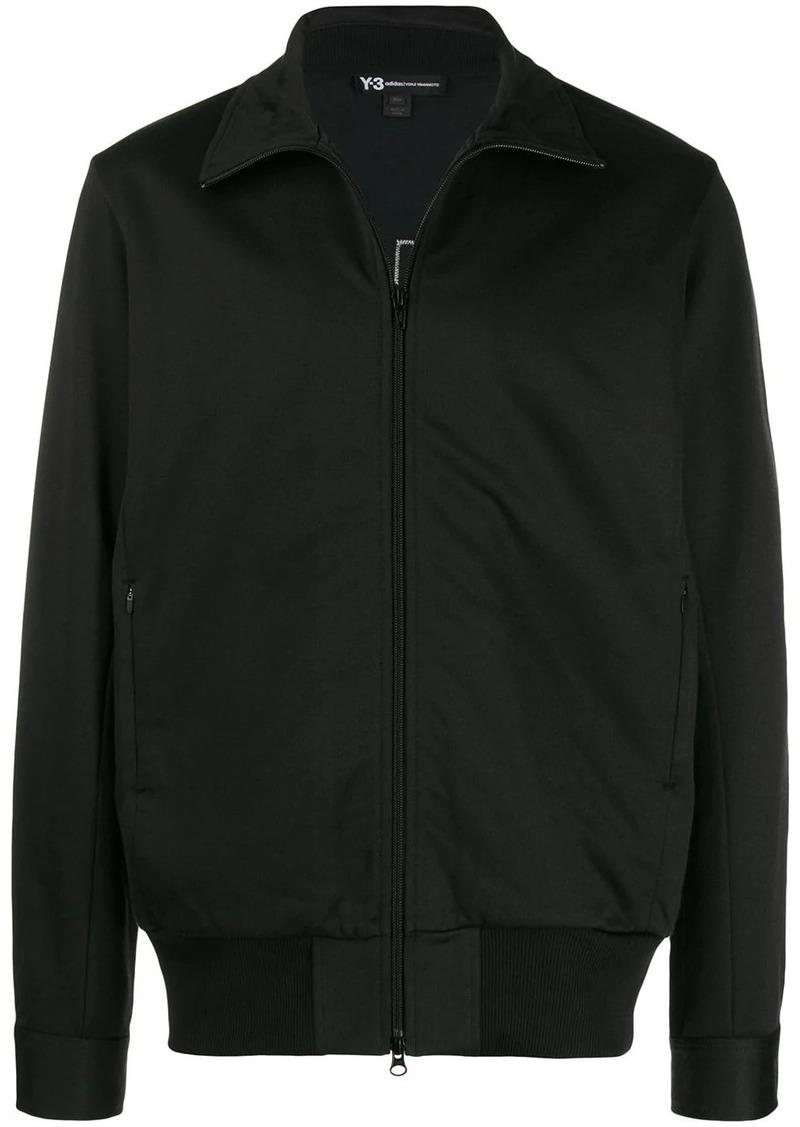 Y-3 zipped bomber jacket
