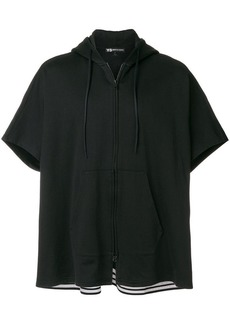Y-3 zipped front hoodie
