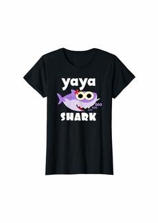 Ya-Ya Baby Shark Shirt For Yaya -Doo Doo Doo - Yaya Shark T-Shirt
