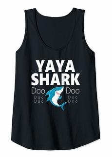 Ya-Ya Womens Yaya Shark Doo Doo Gift Tank Top