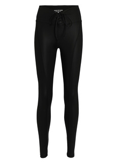 Year Of Ours Gloss Football Leggings
