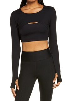 Women's Year Of Ours Crop Cutout Top