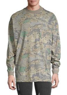 Yeezy Camo Long-Sleeve T-Shirt