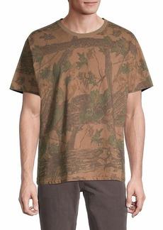 Yeezy Foliage-Print T-Shirt