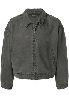 Yeezy zipped bomber jacket