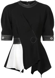 Yigal Azrouel asymmetric blouse