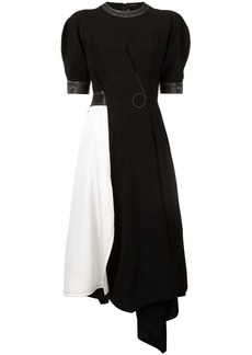 Yigal Azrouel asymmetric colour block dress