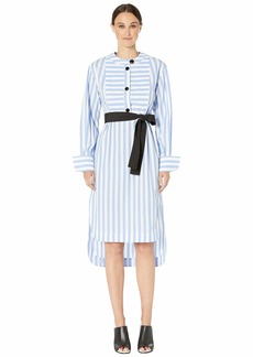 Yigal Azrouel Candy Monostripe Tunic Dress