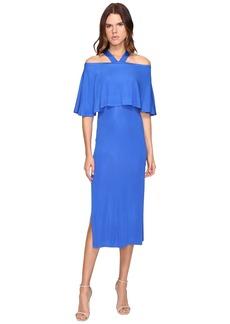 Yigal Azrouel Cold Shoulder Matte Jersey Dress