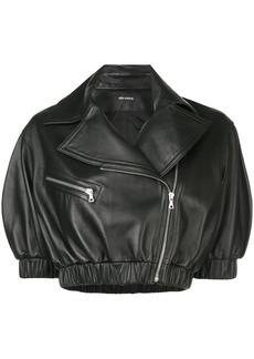 Yigal Azrouel cropped biker jacket