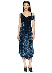 Yigal azrouel crushed velvet jersey dress abv9ae985fe a