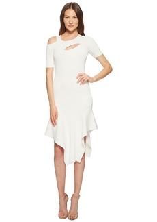 Yigal Azrouel Cut Out Asymmetrical Dress