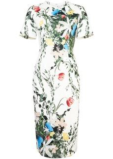 Yigal Azrouel floral scuba dress