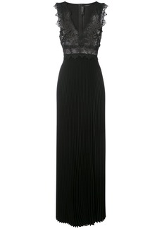 Yigal Azrouel lasercut coral embellished gown