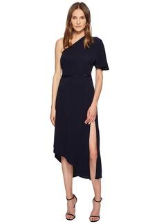Yigal Azrouel Matte Jersey One Shoulder Asymmetric Dress