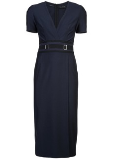 Yigal Azrouel mechanical stretch sheath dress