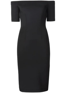 Yigal Azrouel off-shoulder scuba dress