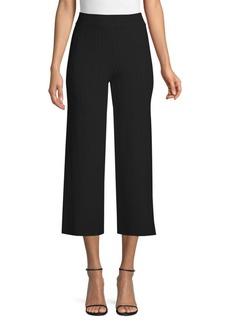Yigal Azrouel Ottoman Fortuny Knit Pants