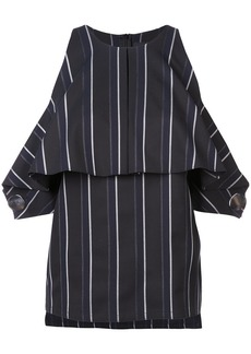 Yigal Azrouel pinstriped off the shoulder top