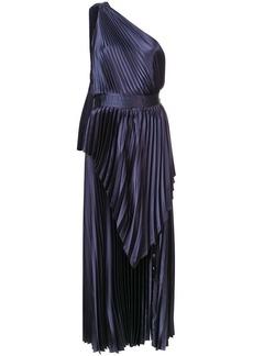 Yigal Azrouel Pleated Column Scarf dress