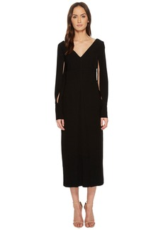 Yigal Azrouel Polyester Double Satin Suiting Crepe Dress