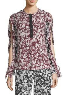 Yigal Azrouel Printed Tunic Blouse