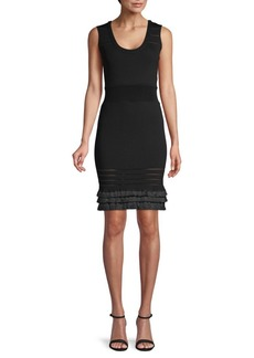 Yigal Azrouel Ribbed Bodycon Dress