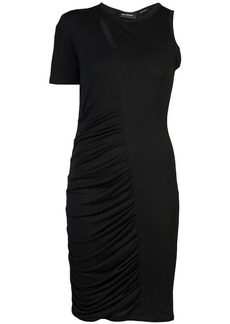 Yigal Azrouel ruched one-sleeve dress