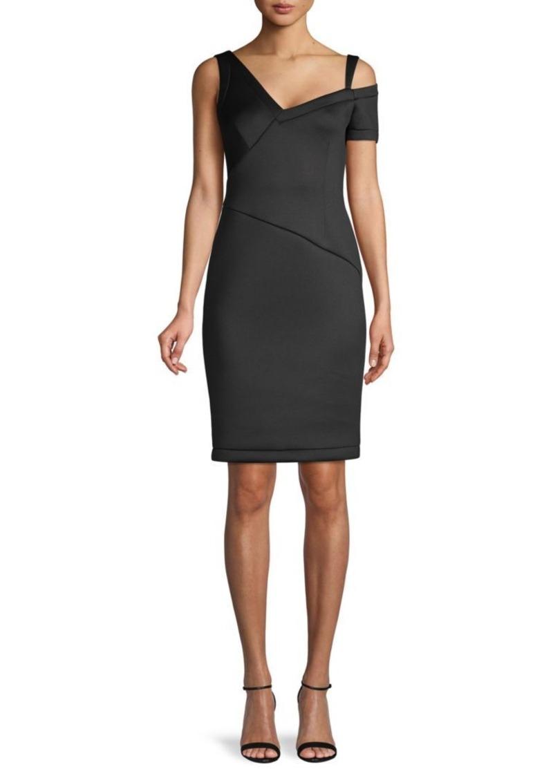 Yigal Azrouel Short-Sleeve Midi Dress