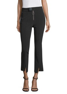 Yigal Azrouel Straight Fit Cropped Trousers