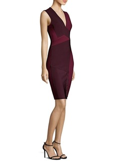 Yigal Azrouel Two-Tone Bodycon Dress