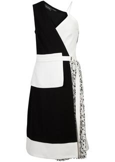 Yigal Azrouel asymmetric apron dress - Black