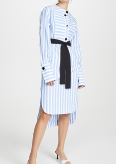 Yigal Azrouel Candy Stripe Tunic Dress