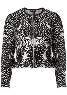 Yigal Azrouel coral reef burnout jacket - Black
