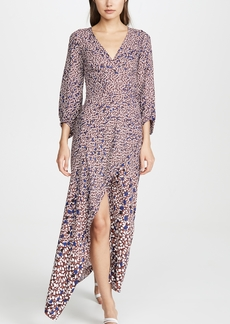 Yigal Azrouel Falling Leaf V Neck Dress