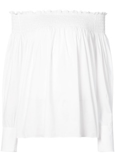 Yigal Azrouel off the shoulder blouse - White