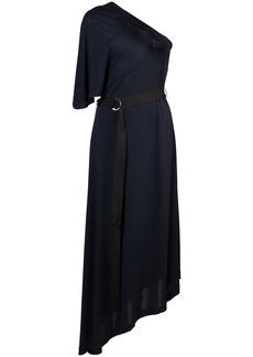 Yigal Azrouel one-shoulder matte dress - Blue