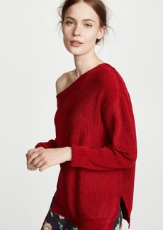 Yigal Azrouel One Shoulder Oversized Sweater