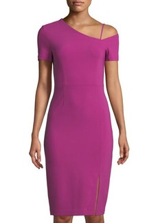 Yigal Azrouel One-Shoulder Sheath Dress