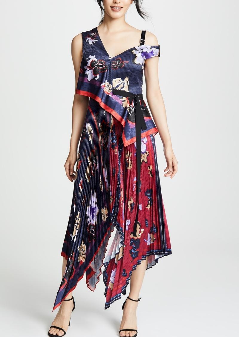 3acbbb28b Yigal Azrouel Yigal Azrouel Pleated Handkerchief Dress   Dresses