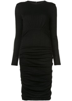 Yigal Azrouel ruched skirt dress - Black