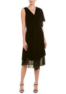 Yigal Azrouel Ruffle A-Line Dress