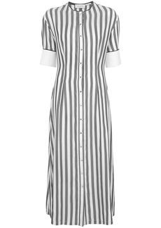 Yigal Azrouel striped shirt dress - Grey