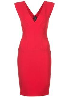 Yigal Azrouel v-neck dress - Red